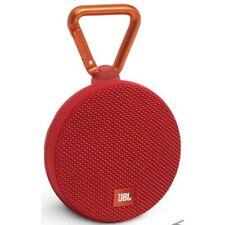 JBL Clip 2 Portable Bluetooth Speaker Red