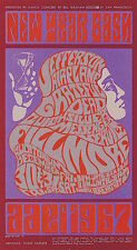 MINT Grateful Dead Airplane 1966 BG 37 FIRST NYE Fillmore HANDBILL