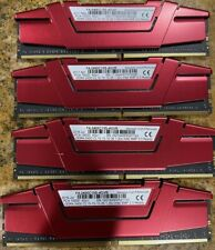 LOT OF 4 G. SKILL F4-2400C15S-4GVR DDR4 GAMING MEMORY( TOTAL 16GB)