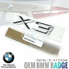 Genuine New BMW X3 badge coffre arrière Emblème Pour X3 F25 sDrive xDrive 2010-2017