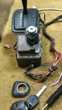 1997 SAAB 900 AUTOMATIC TRANSMISSION SHIFTER assembly with ignition and cable