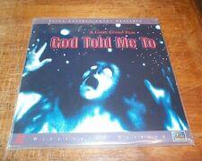 GOD TOLD ME TO - WS Laserdisc - Elite