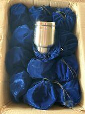 Travel Mugs Case of 24 New Stainless steel Travel coffee mugs or tea mugs