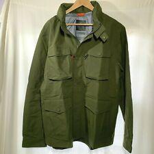 Bluffworks Mens Field Jacket  XXL 2XL Waterproof Breathable Hideaway Hood Green