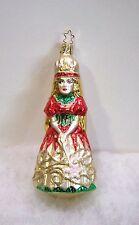Old World Christmas Inge Glass Ornaments Christmas Princess NEW
