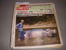 PARIS MATCH 1268 25.08.1973 COUSTEAU 3p sur SALVADOR DALI STEVE MC QUEEN NIXON