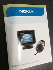 Nokia User Manual Guide for Nokia Genuine CK-15W Bluetooth Display Hands-Free