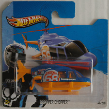 Hot Wheels - Propper Chopper Hubschrauber / Helicopter blau/orange Neu/OVP
