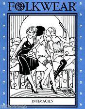 Folkwear Intimacies 1920-30s Camisole, Tap Pants, Teddy, Slip Sewing Pattern 219