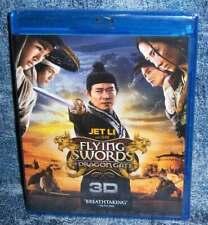 New Jet Li Flying Swords Of Dragon Gate 3D & 2D Blu Ray Martial Arts Movie 2011