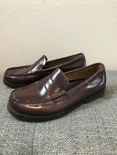 Sperry Boys Top Siders Cordovan Leather Colton Loafer 4.5M