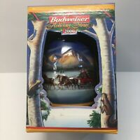 """BUDWEISER 2000 Holiday Christmas STEIN Beer MUG """"Holiday in the Mountains"""""""