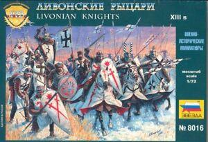 Zvezda 1/72 Livonian Knights # 8016
