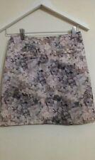 Polyester High Waist Floral Regular Size Skirts for Women