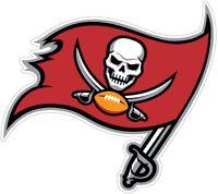 """Tampa Bay Buccaneers NFL logo Color Die Cut Vinyl Decal - You Choose Size 3""""-28"""""""