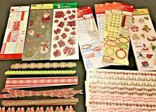 Scrapbooking CHRISTMAS- Stickers, Embellishments & MORE  *****FREE SHIPPING*****