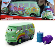 Fillmore VW Bus + Oil Cans Disney Pixar CARS Volkswagen 1:24 Jada Toys 98492