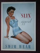 POSTCARD  SLIX APPEAL SWIMWEAR