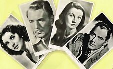 VALENTINES - 1940s UK B&W ☆ FILM STAR ☆ Postcards #10 to #285