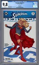 Supergirl: Rebirth #1  Adam Hughes Variant  Sold Out 1st Print   CGC 9.8