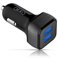 4.4A/22W Dual USB Port Universal Light-Speed USB Fast Rapid Adapter Car Charger