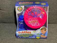 Little Kids Fubbles Bubble Blastin' Pink