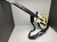 Nintendo Wii Guitar Hero Gipson Les Paul White Guitar With Strap 95125-805