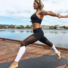 Womens High Waist Yoga Fitness Leggings Running Gym Sports Pants Trousers Skinny