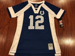 Majestic Women's Andrew Luck Indianapolis Colts Draft Him NFL Jersey Medium M
