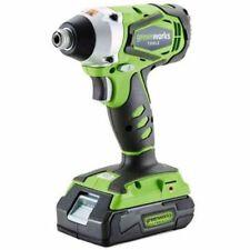 GreenWorks 24 V Cordless Drills