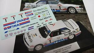Calca/Decal BMW M3 #1 J.I. VILLACIEROS CET 1993 (1a.parte temporada) 1/43