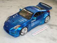 Jada Import Racer Nissan Z Veilside Rotora Liquid Candy Blue Used