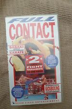 Rare UK Sport Martial Art VHS 1990s FULL CONTACT KARATE,Smith,UFC,Kick Boxing