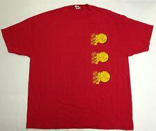Alstyle Men's Knock Knock Knock Penny Sheldon Shirt, 2XL, Red, Cotton