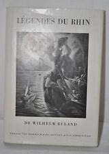 Wihlelm RULAND Légendes du Rhin - Contes Allemands