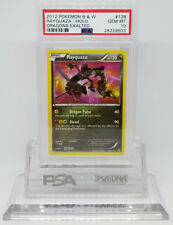 Pokemon DRAGONS EXALTED RAYQUAZA 128/124 SECRET RARE PSA 10 GEM MINT #*