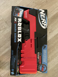 Brand New Hasbro Nerf Mega Roblox MM2 Shark Seeker With In Game Digital Code
