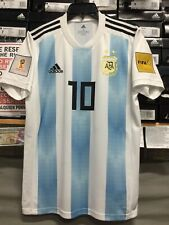 813c97bf2 Adidas Argentina Home Jersey  10 Messi Russia 2018 Edition Size Small Only