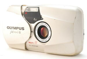 (Exce+++) Olympus [mju:]-II 35mm F2.8 Point & Shoot Film Camera From JAPAN A353