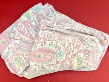 Pottery Barn Kids Teens Twin Size Bed Duvet Cover Brooklyn PINK Paisley