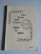 1894 1994 1995 WINGRAVE PARISH COUNCIL BUCKINGHAMSHIRE LIMITED EDITION BROCHURE