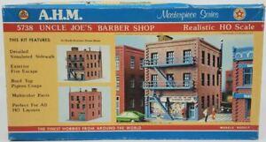 AHM 5738 HO Scale Uncle Joe's Barber Shop Assembly Kit