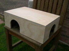 """18"""" x 12"""" x 6""""  Guinea Pig / Small Animal 2 Door Play House / Hide / Shelter"""