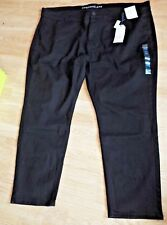 M&S COLLECTION, BLACK STRAIGHT LEG JEANS   SIZE 28 MED BNWT