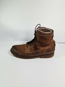 """Timberland 15551 Men's Brown Leather Earthkeepers 6"""" Lace-Up Boots Sz 13M"""