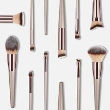 Luxury Champagne Makeup Brushes Set For Foundation Powder Blush Eyeshadow