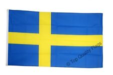 Sweden Flag Swedish Banner 90x150cm - 5ftx3ft