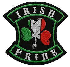 IRISH PRIDE embroidered PATCH