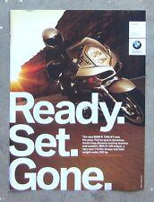 BMW R1200ST Genuine 2005 Motorcycle Magazine Page Sales Advertisement Brochure