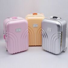 Baby Doll Travel Suitcase Fashion Plastic For 18 Inch Girl Kids Doll Accessories